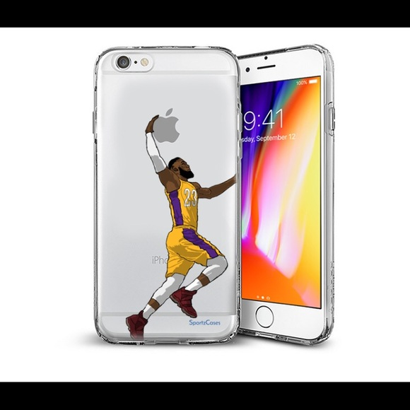 new products dd306 18038 Lebron James iPhone 6 Plus silicone case